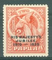 Papua New Guinea: 1935   Silver Jubilee    SG151    2d       MH - Papua New Guinea