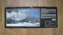 Kalender-Eisenbahn - Kalender