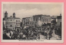 Minervino Murge (Bari) - Piazza Bovio - Bari