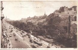 EDINBURGH - The Castle & Princes Street, Gel.1947 - England