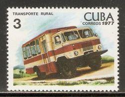 1977 Mi# 2196 ** MNH - Rural Transport - Bussen