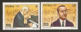 1977 Mi# 2215-2216 ** MNH - Antonio Maria Romeu, Composer / Music - Unused Stamps