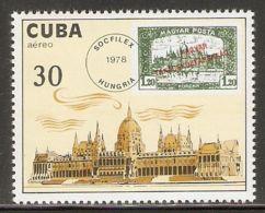 1978 Mi# 2293 ** MNH - SOCFILEX '78, Budapest / Parliament / Stamps On Stamps - Nuevos