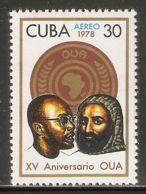 1978 Mi# 2301 ** MNH - Organization Of African Unity, 15th Anniv. - Nuevos