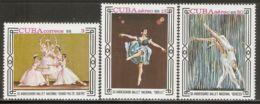 1978 Mi# 2353-2355 ** MNH - Natl. Ballet, 30th Anniv. - Nuevos