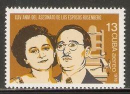 1978 Mi# 2362 ** MNH - 25th Death Anniv. Of Julius And Ethel Rosenberg - Unused Stamps