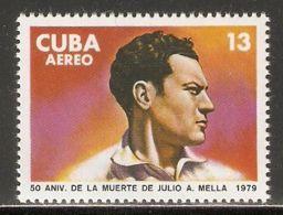 1979 Mi# 2366 ** MNH - Julio A. Mella - Cuba