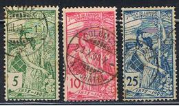 (SU 370) HELVETIA // YVERT 86, 87, 88 //  1900 - Gebraucht