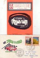 ITALIA  53^ Targa Florio   Lotto Di 2 Pezzi   Busta + Cartolina Con Annulli + Foto - Palermo