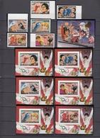 Central African Republic30.11.1984 IMPERF Mi # 1062-67В Bl 297В Bl 298-303В, Sarajevo Winter Oympics Gold Medal Winners - Winter 1984: Sarajevo