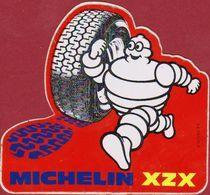 Automobile Michelin Bibendum Pneus Tyres XZX Reclame Publicite Vintage Retro Sticker Autocollant Aufkleber Adesivo - Autocollants