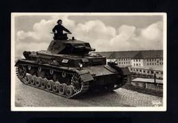 2560-GERMAN EMPIRE-MILITARY PROPAGANDA Censor POSTCARD GERMAN Panzer SOLDIER.WWII.DEUTSCHES REICH.POSTKARTE.carte Postal - 1939-45