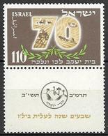 Israel 1952 - 70th Anniv.of B.I.L.U - Israel