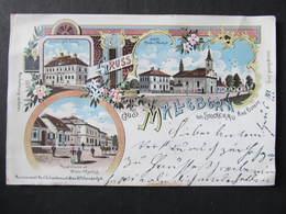 AK MALLEBARN B. STOCKERAU Korneuburg Litho Schwidernoch 1900 /// D*38867 - Stockerau