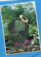 POLYNESIE-Ile De Hiva Oa -la Tombe De JACQUES BREL-postée 1993 Uturoa Raiatea-iles Sous Le Vent - Singers & Musicians
