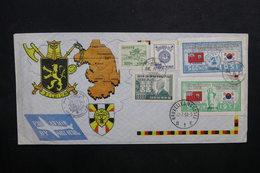 COREE - Enveloppe Souvenir Pour La Belgique En 1953 - L 32723 - Korea, South