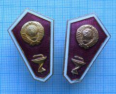 USSR / Badges / Soviet Union. The Medicine. Medical School . Graduate. - Medical