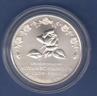 USA 1994 1$ Silber-Gedenkmünze Botanischer Garten MS / Stg - Ohne Zuordnung