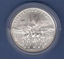 USA 2002 1$ Silber-Gedenkmünze 200 Jahre Militärakademie Westpoint MS / Stgl - Ohne Zuordnung