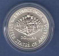 USA 1987 1$ Silber-Gedenkmünze 200 Jahre Verfassung Constitution MS / Stgl - Ohne Zuordnung
