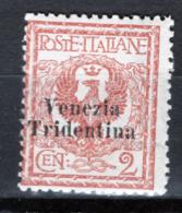 Trentino Alto Adige 1918 Sass.20 */MH VF/F - 8. WW I Occupation