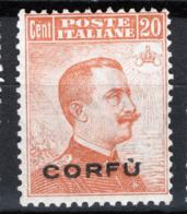 Corfù 1923 Unif.4 **/MNH VF/F - 8. WW I Occupation