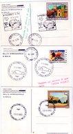 ITALIA   Targa Florio   Lotto  3 Cartoline Con Annulli Della 63^ + 64^ + 65^ - Palermo