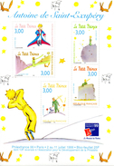 France.bloc No 20.saint Exupery.1998.n**. - Neufs
