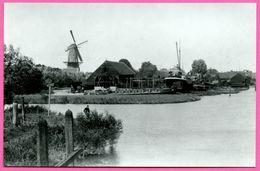 Zo Was Dordrecht - Noordendijk Wantij Omstreeks 1905 - Péniche - Molen Moulin - Animée - Edit SPARO - Foto L. Van Es - Dordrecht