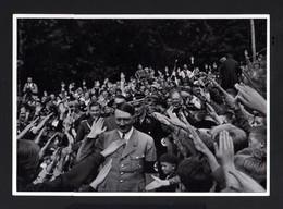 2576-GERMAN EMPIRE-MILITARY PROPAGANDA GERMAN Sammelbild ADOLF HITLER.Bild Nr.58 Group Nr.66.17X12.WWII.DEUTSCHES REICH - 1939-45