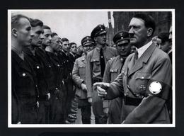2577-GERMAN EMPIRE-MILITARY PROPAGANDA GERMAN Sammelbild ADOLF HITLER.Bild Nr.85 Group Nr.63.17X12.WWII.DEUTSCHES REICH - 1939-45