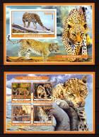 Burkina Faso, 2019. [bf1912] Fauna, Panthers, Imperf - Raubkatzen