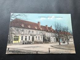 DOMPIERRE SUR BESBRE Hotel Du Commerce - 1935 Timbrée - France