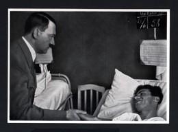2578-GERMAN EMPIRE-MILITARY PROPAGANDA GERMAN Sammelbild ADOLF HITLER.Bild Nr.27 Group Nr.66.17X12.WWII.DEUTSCHES REICH - 1939-45