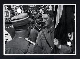 2579-GERMAN EMPIRE-MILITARY PROPAGANDA GERMAN Sammelbild ADOLF HITLER.Bild Nr.200 Group Nr.62.17X12.WWII.DEUTSCHES REICH - 1939-45
