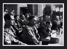 2582-GERMAN EMPIRE-MILITARY PROPAGANDA GERMAN Sammelbild ADOLF HITLER.Bild Nr197 Group Nr.65.17X12.WWII.DEUTSCHES REICH - 1939-45