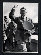 2583-GERMAN EMPIRE-MILITARY PROPAGANDA GERMAN Sammelbild ADOLF HITLER.Bild Nr 199 Group Nr.66.17X12.WWII.DEUTSCHES REICH - 1939-45