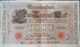 Germany 1000 Mark 1910 - [ 2] 1871-1918 : German Empire