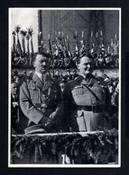 2584-GERMAN EMPIRE-MILITARY PROPAGANDA GERMAN Sammelbild ADOLF HITLER.Bild Nr 80 Group Nr.65.17X12.WWII.DEUTSCHES REICH - 1939-45