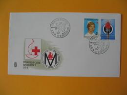 FDC Luxembourg   1974  -  Lot De 10   FDC  à Voir - FDC