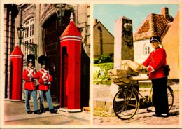 Denmark Copenhagen The Sentries At The King's Palace - Denmark