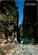 Greece Crete The Ravine Of Samaria 1984 - Greece