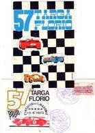 ITALIA  57^ Targa Florio   Lotto Di 2 Pezzi   Busta + Cartolina Con Annulli - Palermo