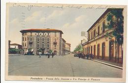 Pontedera - Piazza Della Stazione E Via Principe Di Piemonte, # 950, By Gino Dani, Mailed 1948 - Altre Città