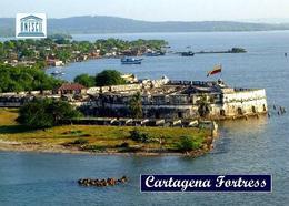 Colombia Cartagena Fortress UNESCO New Postcard Kolumbien AK - Kolumbien
