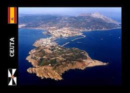 Ceuta Aerial View North Africa New Postcard - Ceuta