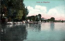! Alte Ansichtskarte Partie Am Müggelsee, 1907, Goldiner , Berlin - Mueggelsee