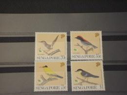 SINGAPORE - 1991 UCCELLI 4 VALORI - NUOVI(++) - Singapore (1959-...)