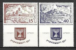 Israel 1951 - Proclamation Of The State Of Israel,3rd Anniv. - Israel