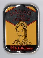 Puxisardinophilie - Boite à Sardines (vide) Huile D'arachide La Belle-iloise - Autres Collections